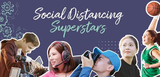 Social Distancing Superstars
